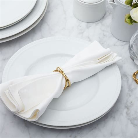 Aria Gold Napkin Ring   Reviews   Crate and Barrel