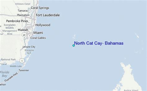 north cat cay bahamas tide station location guide