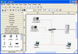 Top 10 Network Diagram  Topology  U0026 Mapping Software - Pc  U0026 Network Downloads