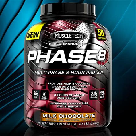 Amazon.com: MuscleTech Phase8 Protein Powder, Sustained
