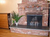 how to build a fireplace How to Build a Concrete Fireplace Hearth | HGTV