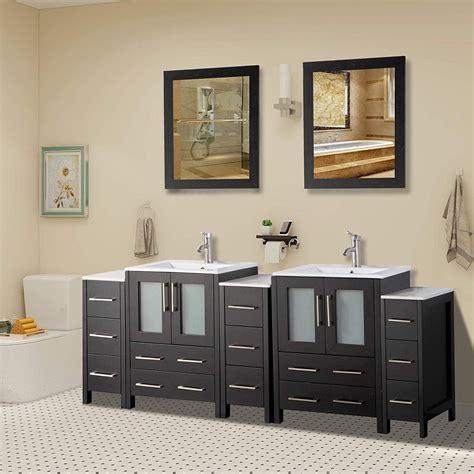 vanity art   double sink bathroom vanity set  ebay