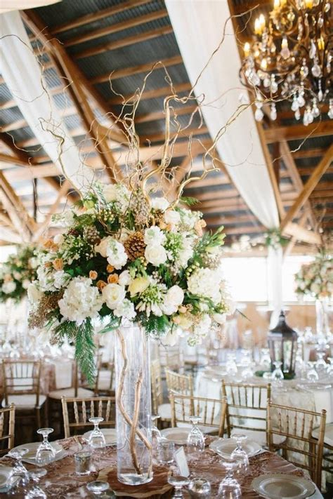 rustic barn wedding  elegance wedding reception