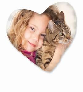 Herzkissen Mit Foto : kissen mit foto erstellen bedrucken hofer fotos ~ Watch28wear.com Haus und Dekorationen