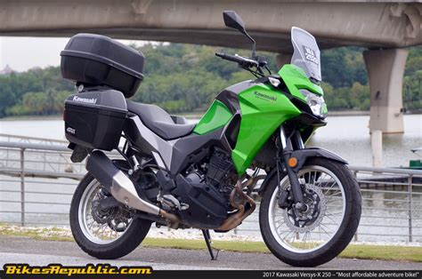 Kawasaki Versys X 250 Image by Kawasaki Versys X 250 Most Affordable Adventure Bike For