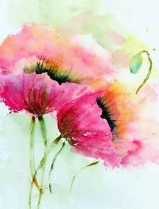 Aquarell Malen Blumen : planzen aquarell pinterest bilder malen teil 3 ~ Articles-book.com Haus und Dekorationen
