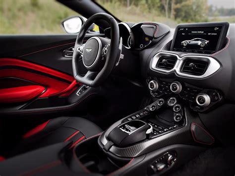 New Aston Martin Vantage Interior