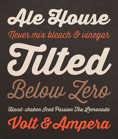 deal of the week exclusive new thirsty soft font family webdesigner depot