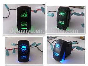 2014 Toyota Hilux Push Switch  U0026 Led Light Bar Push Switch With Green Lights