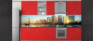 Fond De Hotte Verre : credence autocollante pas cher maison design ~ Dailycaller-alerts.com Idées de Décoration