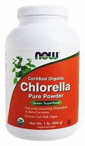 Buy Now Foods - Chlorella Pure Powder Certified Organic