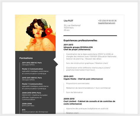 écrire Un Cv Exemple by 16 Exemple De Cv Artistiques Avatarswizard