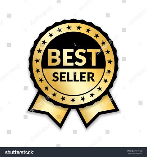 14764 award ribbon icon vector ribbon award best seller gold ribbon stock vector