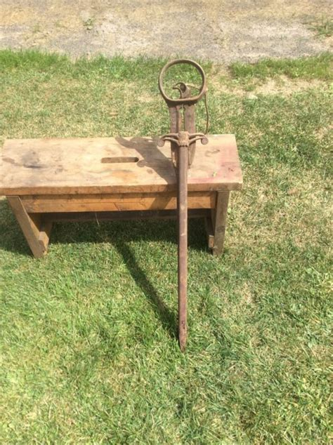 Vintage Hay Fork Shop Collectibles Online Daily