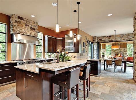 great kitchen designs 10 floor plans with great kitchens builder magazine 1338