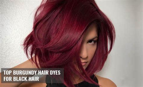 15 Burgundy Hair Dyes For Black Hair