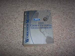 2005 Ford Crown Victoria Shop Service Repair Manual Lx Sport Police Interceptor