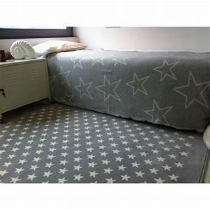 Tapis Etoile Gris : tapis petites etoiles gris marine lorena canals ~ Teatrodelosmanantiales.com Idées de Décoration