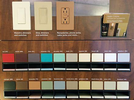 lutron colors lutron 174 color sles to go fixtures up retail pop