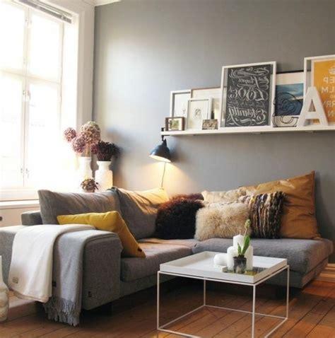 deco salon canape gris déco salon gris 88 idées pleines de charme