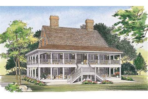2 story house plans with wrap around porch eplans country house plan two levels of wraparound