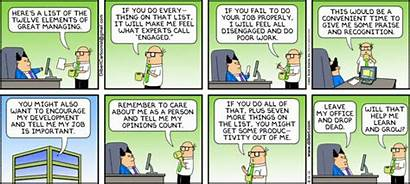 Dilbert Employee Strip Engagement Humor Comics Appreciation