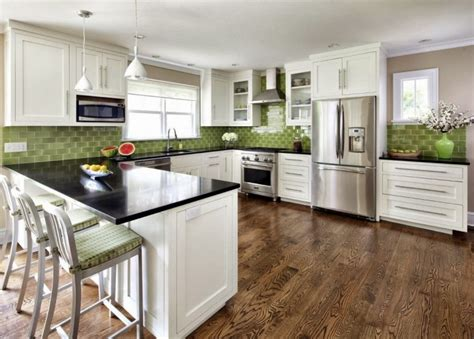 white and green kitchen 20 interessante k 252 chenideen in wei 223 und gr 252 n freshouse 1247