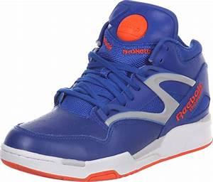 Reebok Pump Omni Lite shoes blue orange