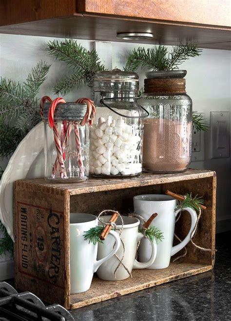 cozy christmas kitchen decor ideas shelterness