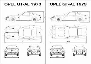 Diagram Size Opel Gt