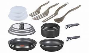 Batterie Cuisine Tefal : batteries de cuisine tefal ingenio groupon ~ Melissatoandfro.com Idées de Décoration