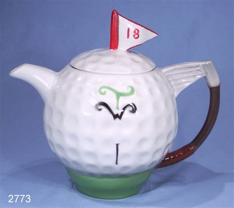 Novelty Gravy Boat Uk by Tony Wood Golf Novelty Teapot Sold Collectable China