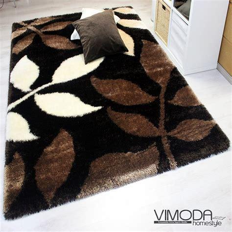 tapis design et modernes pas cher grands tapis salon marron beige ecru