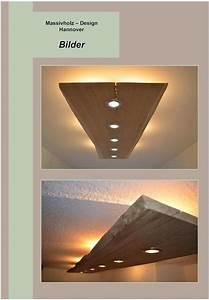 Holz Lampen Decke : deckenlampen massiv holz design decken lampe ein designerst ck von massivholzdesignhannover ~ A.2002-acura-tl-radio.info Haus und Dekorationen
