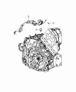 2017 Chrysler Pacifica L Hybrid Wiring  Transmission