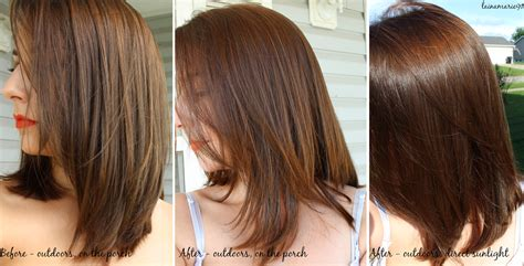 Lainamarie91 Lush Caca Rouge Henna Hair Dye Before