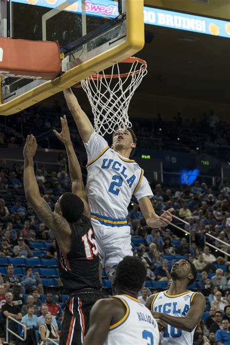 lonzo ball steals  show  ucla defeats pacific