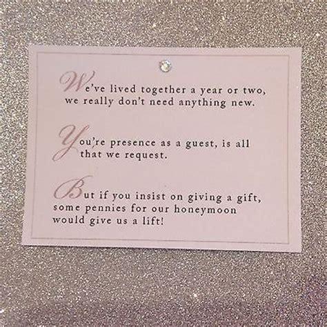 wedding poem cards  invitations money cash gift