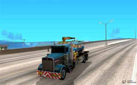 kenworth  truck salvage  gta san andreas