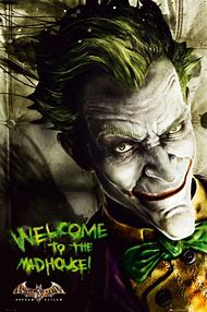 Batman Arkham Asylum Game Joker