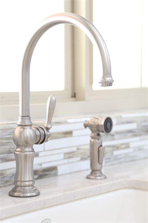 farmhouse kitchen faucets bettijo s urban farmhouse kitchen tour classy clutter