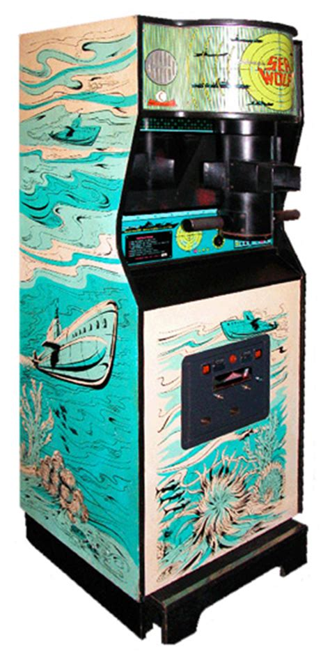 Sea Wolf Arcade Game Rental Video Amusement San