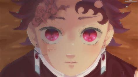 Demon Slayer Tanjiro Kamado On Closeup With Pink Eyes 4k 5k Hd Anime Hd Wallpapers Hd