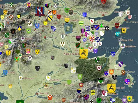 Crean Un Mapa Interactivo De Juego De Tronos
