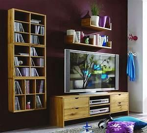 Massivholz Tv Möbel : massivholz wohnwand tv m bel anbauwand wildeiche ge lt gewachst ~ Sanjose-hotels-ca.com Haus und Dekorationen