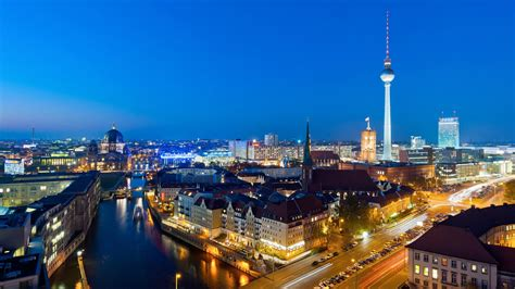 Wallpaper Hd Berlin At Night Germany 1800x2880