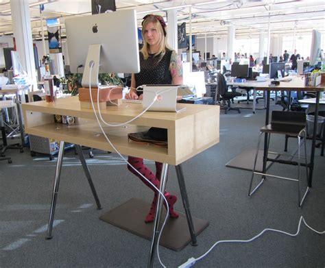 diy standing desk ikea simple adjustable standing desk jessica 39 s blog