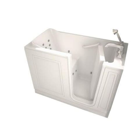 4ft bathtubs home depot american standard 4 ft walk in whirlpool tub with right