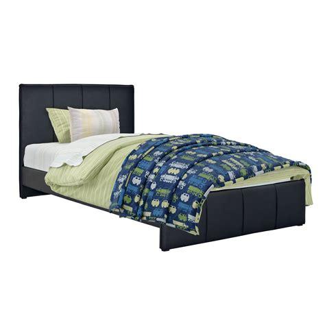 upholstered twin platform bed sears com