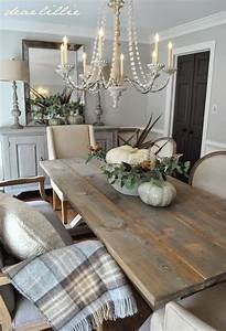 12 rustic dining room ideas decoholic for Rustic chic dining room ideas